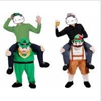2017 Yeni Yenilik Komik Cosplay Oktoberfest Fantezi Pantolon Fantezi Giydir Parti Kostüm Fantasia Yetişkin Çocuk Sevimli Maskot Kostüm