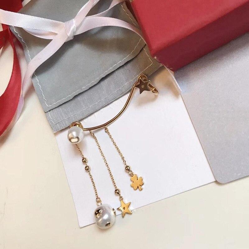 Queen Lotus 2019 bijoux fantaisie luxe haute qualité perle boucles d'oreilles pour femmes déclaration boucles d'oreilles cadeau une pièce