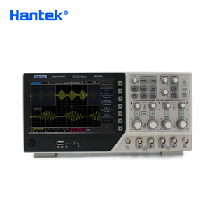 Image 2 - Hantek osciloscopio Digital oficial DSO4254C, 4 canales, 250Mhz, LCD, PC, USB, portátil, EXT + DVM + Función de rango automático