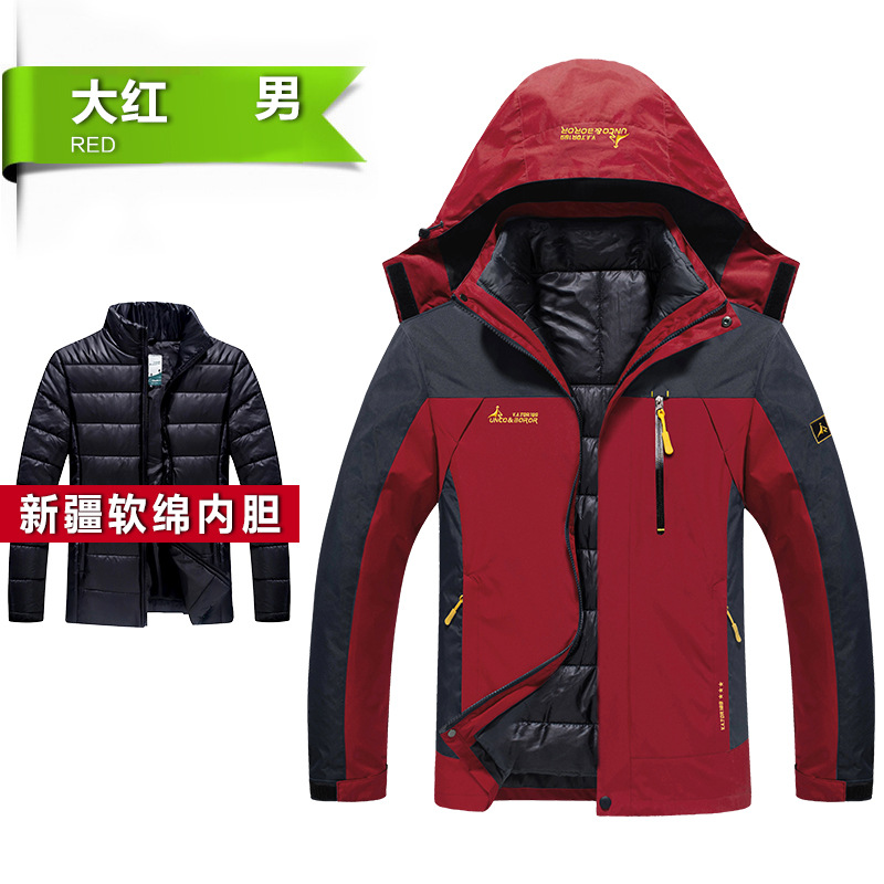 2017 Men&women Winter Warm Fleece Softshell Jackets Outdoor Sport Brand Clothing Coat Hiking Trekking Skiing Male Female Jacket