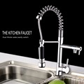 Brass Morden Kitchen Faucet Mixer Tap Bathroom Sink Hot and Cold Torneira de Cozinha