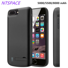 NTSPACE Battery Charger Case For iPhone 6/6S/7/8/X/Xs Power Bank Pack 6/6s/7/8 Plus Portable Cover