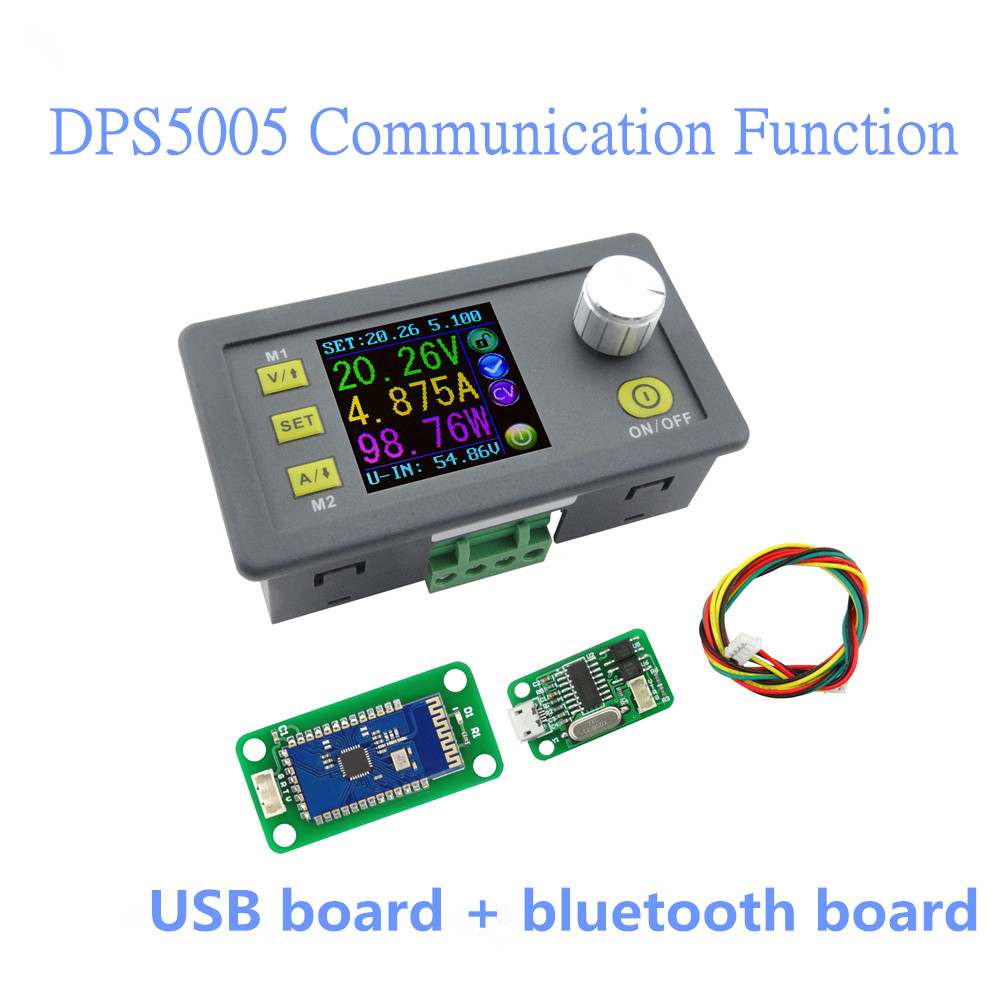 DPS5005 Communication Function Constant LCD Voltmeter ammeter Voltage Current Step-down Power Supply Module 40%off тоник farm stay farm stay fa035lwozm63