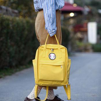 Kobiety Canvas plecaki szkolne torby dla nastolatków dziewczyny czarne urocze plecaki szkolne torby podróżne na ramię torby na książki Famale plecak tanie i dobre opinie SHEFLYTO Płótno Miękki uchwyt Tłoczenie Fizjologiczna krzywa powrót 2-F286 Poliester WOMEN Miękka NONE Moda Klapa kieszeni