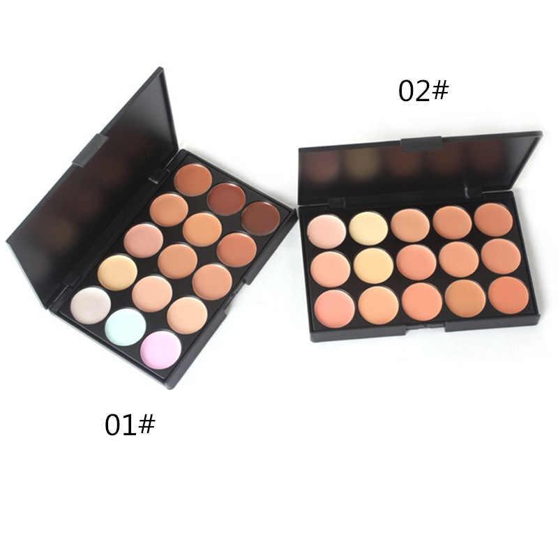 1 pcs Natural15 Cores da sombra do Olho cosméticos de Longa Duração Paleta Da Sombra de Maquiagem Cosmética conjunto escova Para Women15 Cor Terra
