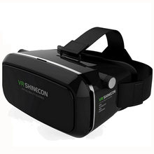 VR SHINECON 3D vr box virtual reality glasses Goggles Headset 3D Movies Games Device for 3.5 to 6.0 inch Android iOS Smartphone