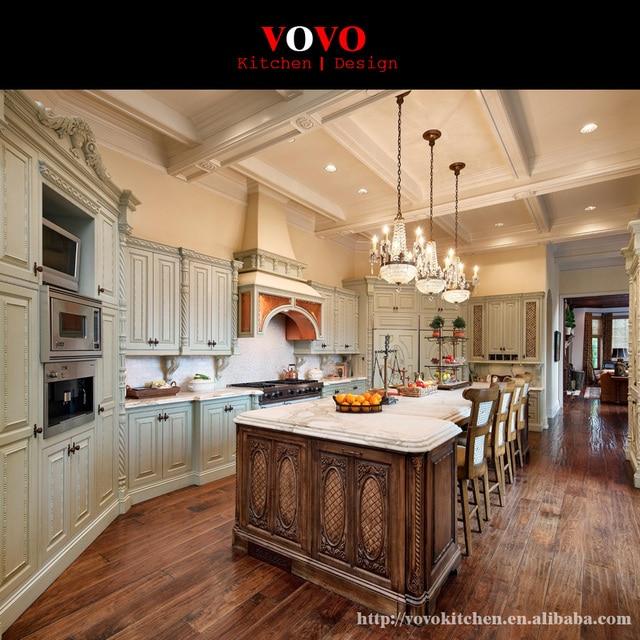 European Luxury Kitchen Cabinet Models