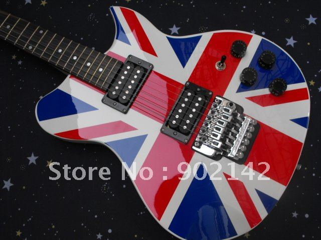 Free shipping 100% K5150 UK flag new guitar high guality  Electric guitar