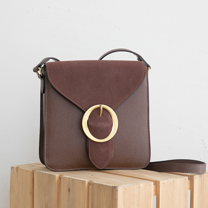 High Quality Cow Leather Retro Shoulder Bags For Women 2018 Korean Simple Handbag Fashion Wild Genuine Leather Crossbody Bag New автоподатчик kyocera dp 480 для taskalfa 1800 2200 1801 2201 1203p76nl0