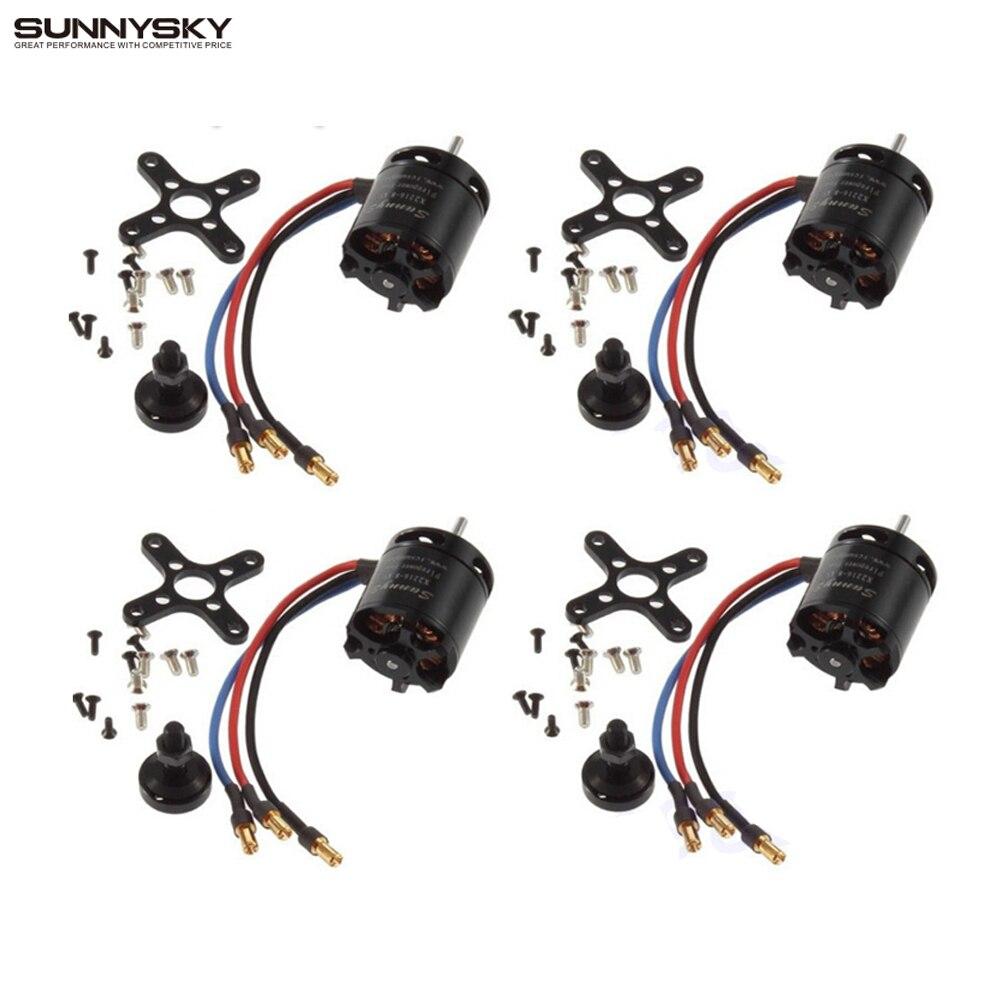 Image 2 - 1pcs SunnySky X2216 2216 880KV 1100KV 1250KV 1400KV 1800KV 2400KV II Outrunner Brushless Motor For RC Models 3D airplane-in Parts & Accessories from Toys & Hobbies