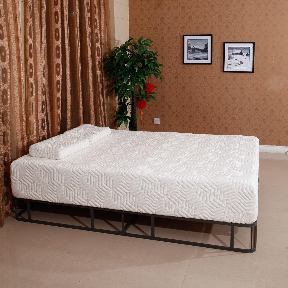 Matratzen Schlafzimmer Möbel Twin Voll Königin Größe 3 Schichten 8 cool Weichheit Baumwolle Matratze W/2 Kissen Neue Uns Verschiffen
