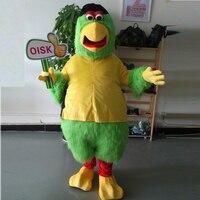 Ohlees фактические реальное изображение Питтсбург попугай Маскоты костюм Необычные Экипировка Футбол Спорт Маскоты s