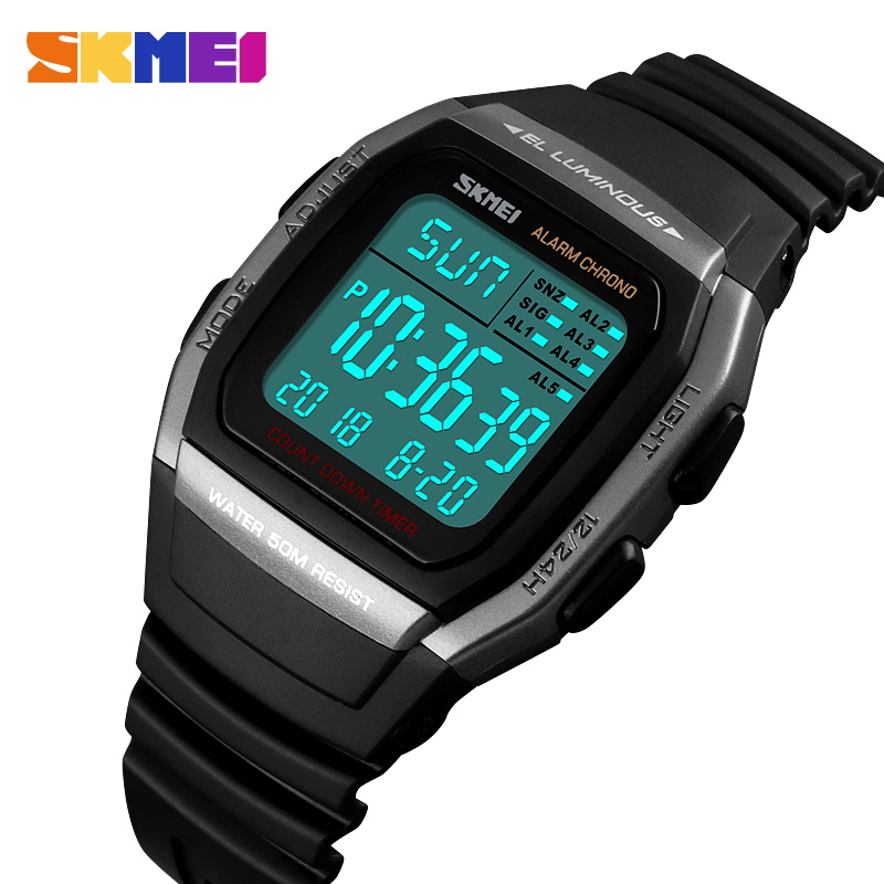 SKMEI Luxury Brand Men Analog Digital Sport Watches Men's Army Military Watch Man Digital Watch Relogio Masculino 1278