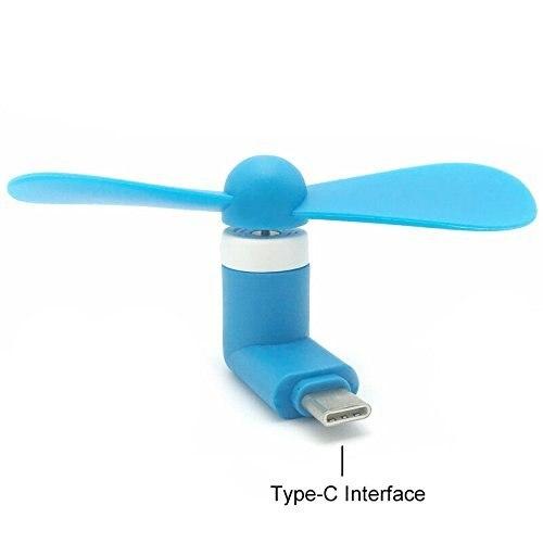 TYPE-C VENTILATEUR Nouvelle Portable USB Refroidisseur USB 3.1 Type C Port Mini électrique USB Ventilateur De Refroidissement Pour Macbook Xiaomi 4c Onplus 2 NEXUS 5X 6 P