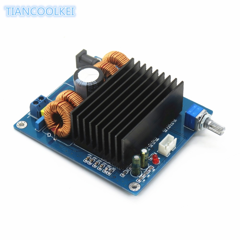 New Pattern Tda7498 Amplifier Board 10 Channel 200w Class D Circuit Lm1036 Tone Controlled Irs2092 Subwoofer Home Bass Diy In From Consumer Electronics On