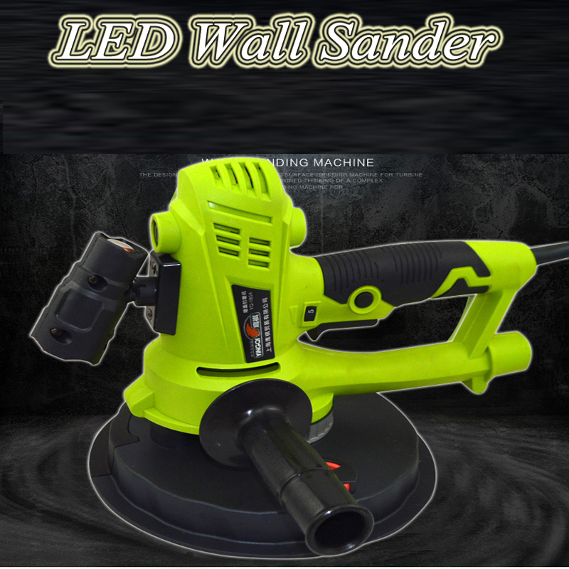 Wall Grinding Machine Wall Sandpaper Machine Grinder Polisher Dust-free Electric Multifunction YQ-180AWall Grinding Machine Wall Sandpaper Machine Grinder Polisher Dust-free Electric Multifunction YQ-180A
