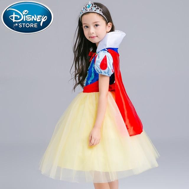 Disney Frozen dress for girls elsa costumes nest Girls Cosplay party Princess anna kids vestidos de festa meninas for children 1