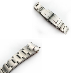 Image 5 - MERJUST 20mm 316lL Silver Gold Stainless steel Watch Bands Strap For RX Daytona Submarine Role Sub mariner Wristband Bracelet