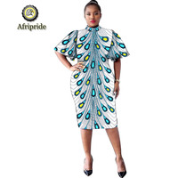 2019 AFRIPRIADE African Dresses For Women Embroidery Print Summer Dress Dashiki Wedding party Dress mini skirt Femme S1925023