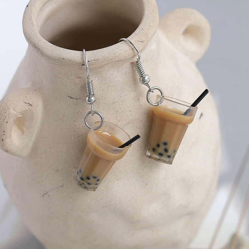 Kawaii Bubble Tea Earrings - Limited Edition