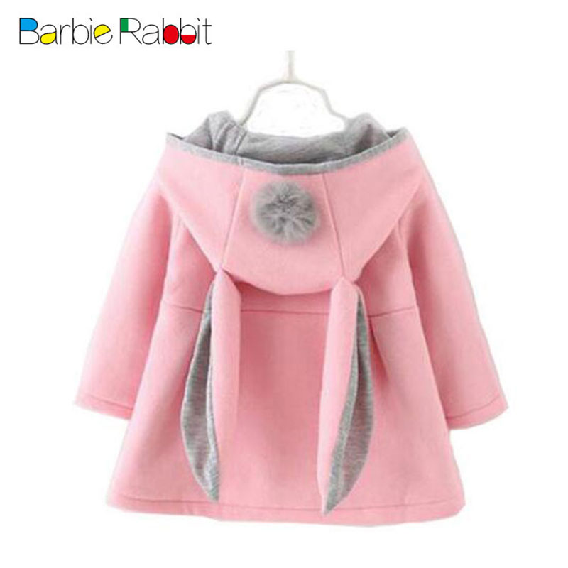 2017 spring cute baby girls clothes brand hooded coat clothes for infant baby wear outerwear brand sports cothing jackets coats