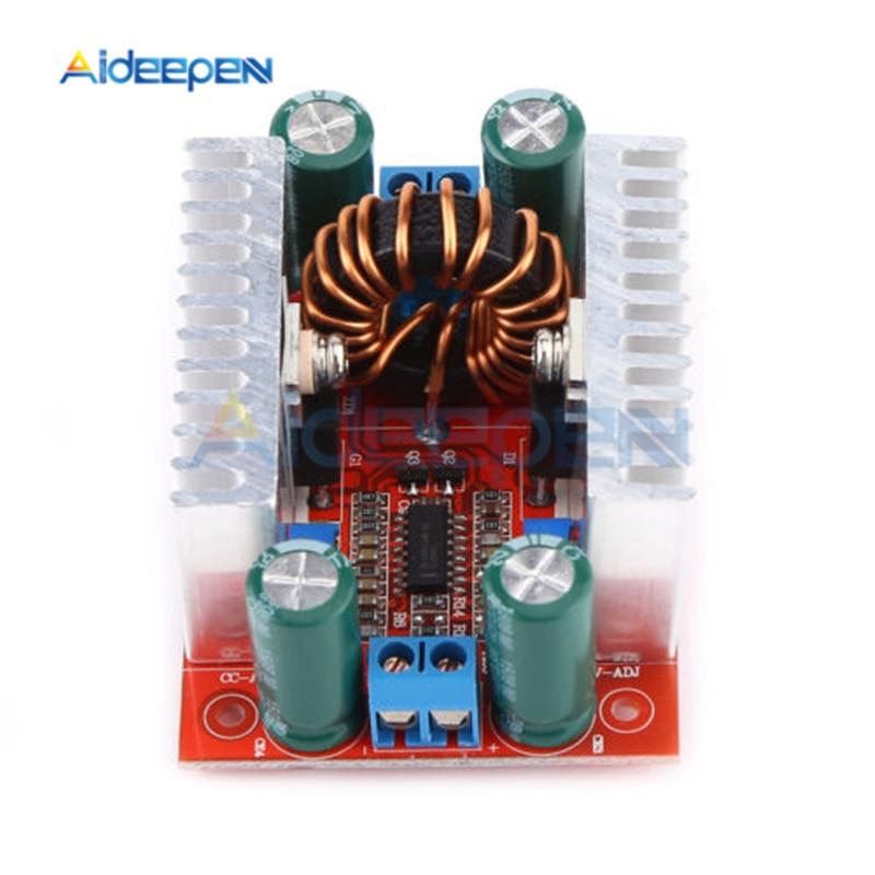 400 Вт 15а повышающий преобразователь постоянного тока 8,5-50 в до 10-60 В постоянного тока модуль питания светодиодный трансформатор напряжения