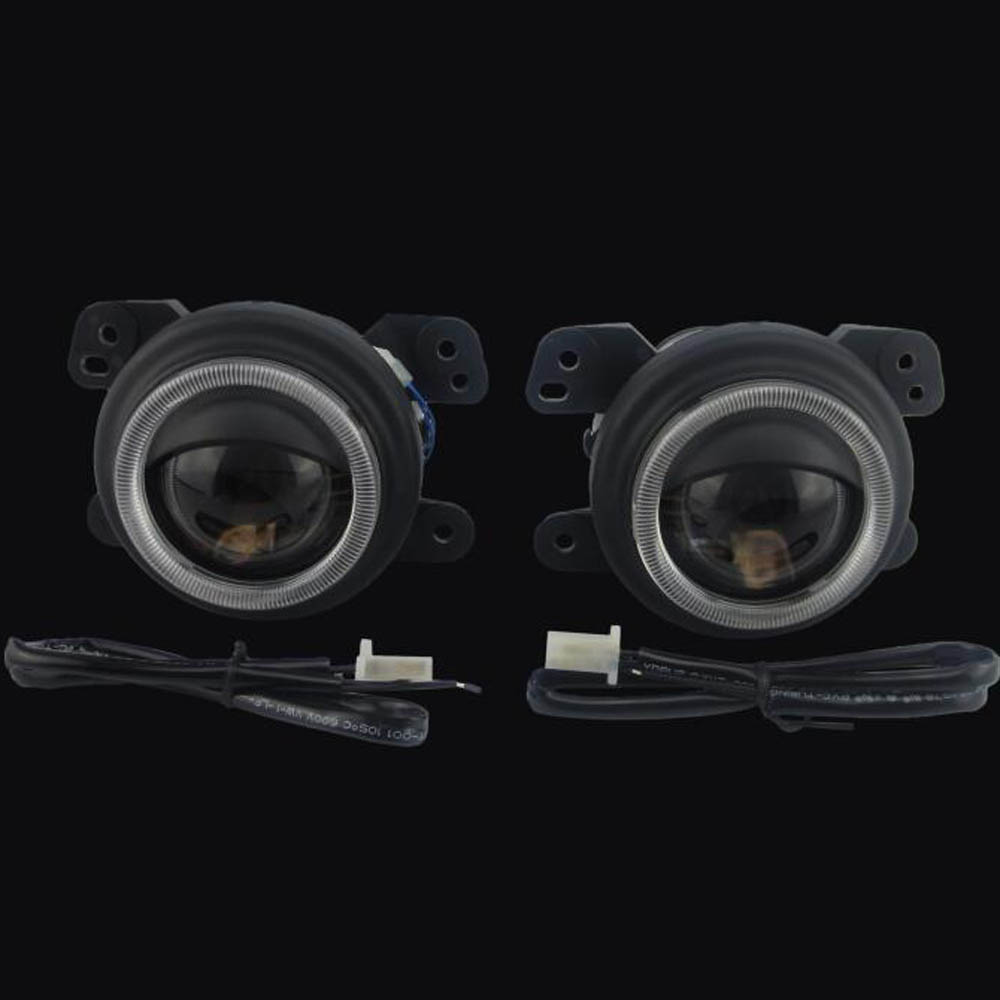 HID Bi-xenon Halogen Bifocal high low beam front bumper Projector Fog Light lens Lamps holder for FIAT FREEMONT 2pcs h4 high low beam led front headlight s2 cob 72w 8000lm car bulb headlamp signal fog light 12v auto replace hid xenon white