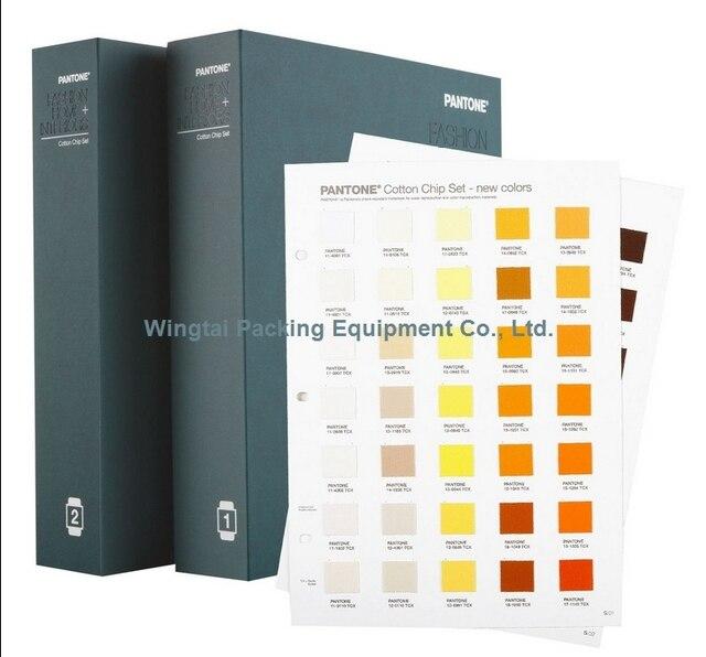 PANTONE FASHION, HOME Interiors TCX Color Guide Pantone TCX Cotton Chip Set  FHIC400