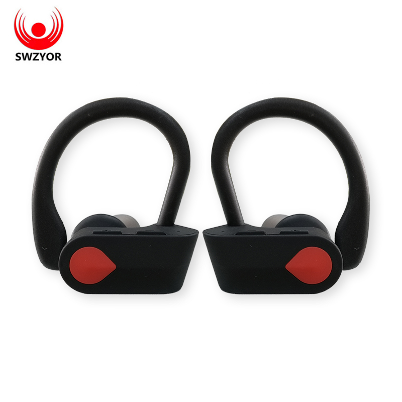 SWZYOR I9S TWS Wireless Binaural Bluetooth Earphone Ear-hook headphones Sports Bluetooth Headset With mic For All Smart phone ovevo q62 dual wireless binaural bluetooth earphone mini in ear headset portable charging cabin sports headphones for smartphone
