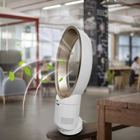 14 Bladeless Fan Super Quiet Cooling Fan Air Purifying Cooler Portable Air Condition with Remote Control for Home Office