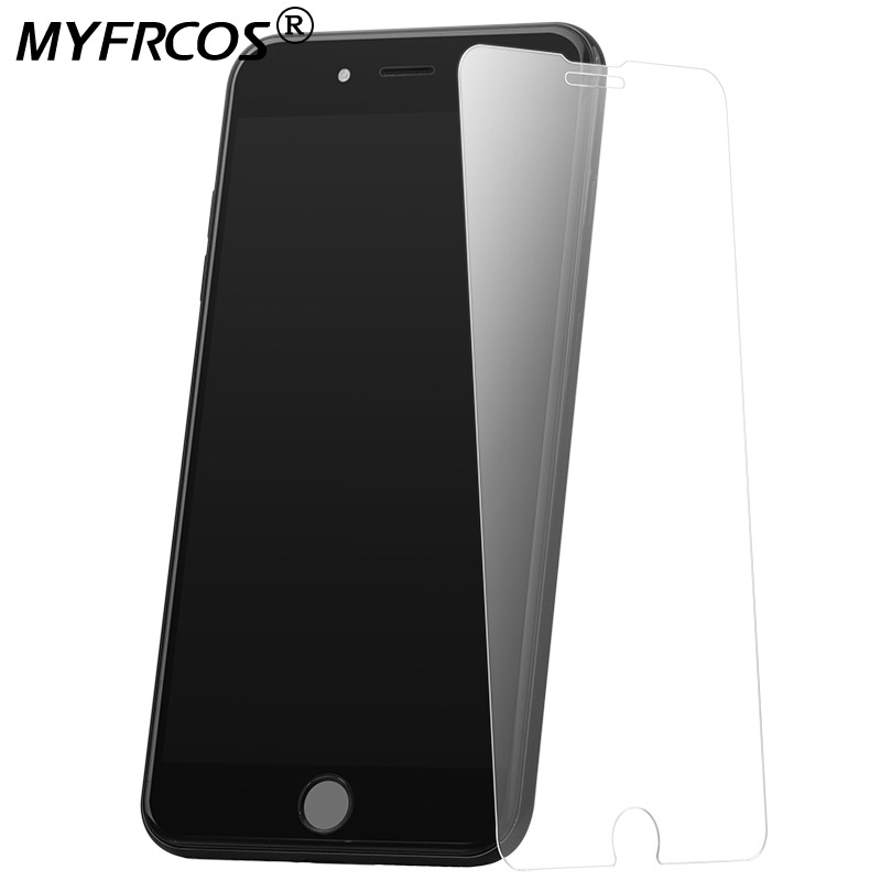 5PC For Iphone 7 Tempered Glass Iphone 7 Plus Glass For Iphone7 I Phone7 Plus Premium Screen Protector 9H Hardness Glass Film