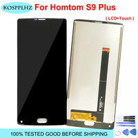 Original High Quality For Homtom S9 Plus LCD Display And Touch Screen Digitizer Sensor Assembly Homtom S9Plus S9+ LCD With Tools