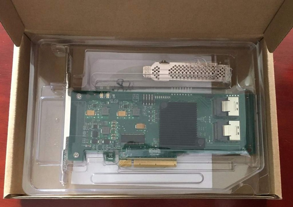 LODFIBER Internal SAS SATA 9211 8i 6Gbps 8 Ports HBA PCI E RAID Controller