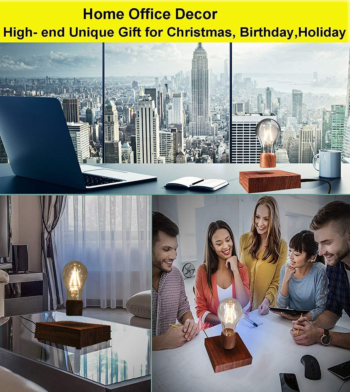 LED Magnetische levitation lampe Nacht Licht Elektronische lampe kreative geschenk Hover drahtlose Magie sensor Home B