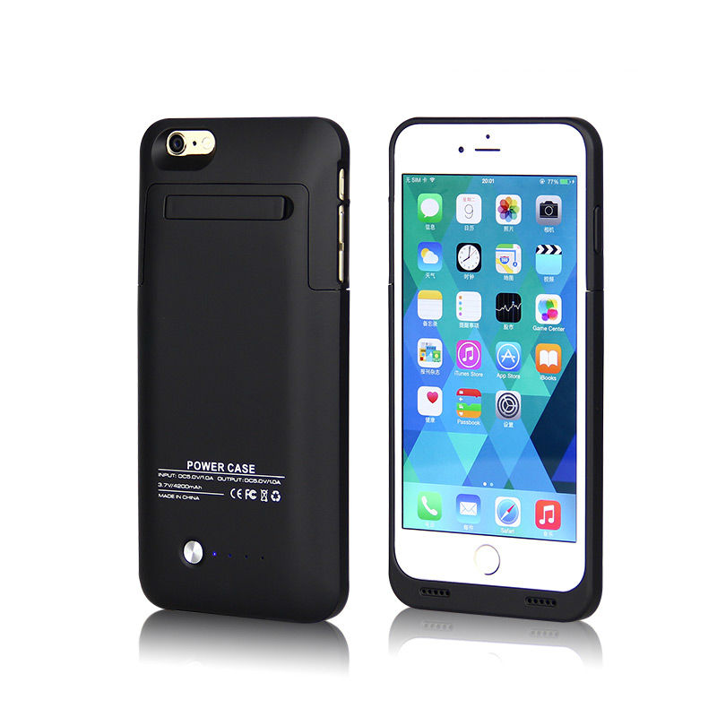 4200mah Power Case External Battery Power Bank Bateria Backup Portable Battery Charger Case For iPhone 5