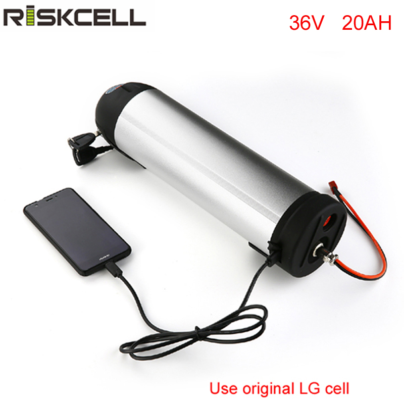 36V 500W ebike lithium battery 36V 20Ah Electric Bike Bottle battery LG cell li-ion Battery with BMS + Charger игровой ноутбук dell alienware 15 r3 a15 8975 page 6