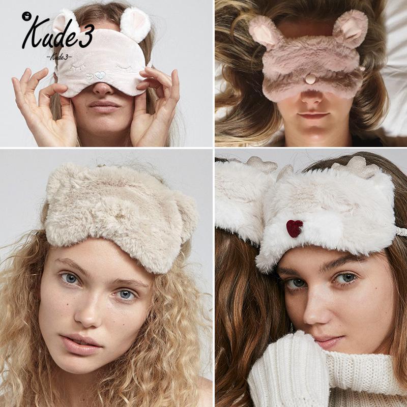 Ambitious Kude Koala Bunny Bear Seal Sleeping Eye Mask Nap Cartoon Plush Eye Shade Sleep Mask Black Mask Bandage On Eyes For Sleeping 7479 Back To Search Resultsapparel Accessories