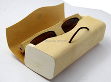 DAOYING pure bamboo box,handmade wood box&nature case for sunglasses free shipping