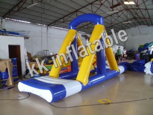 inflatable water sport game water aqua park swimming pool amusement inflatable water slide