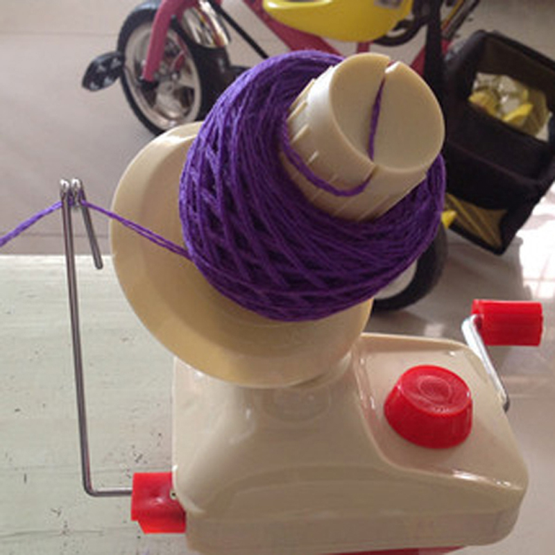 Household String Ball Wool Winder Holder Hand Operated Cable Needle Swift Yarn Fiber Winding Machine For Sewing Accessories