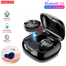 Bluetooth 5.0 Earphones XG12 TWS Sports Wireless Headphone Stereo Bass HIFI Handsfree Gaming Headset with Mic for Mobile Phone стоимость
