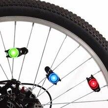 Портативный LED Горный Регулируемая велосипед задний фонарь 2017 Детская Безопасность Предупреждение MTB Велосипедный Спорт заднего света лампы Велосипедные фары