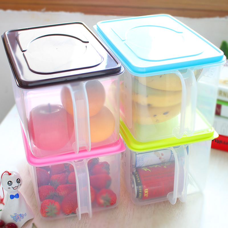 Free Shipping Stackable Storage Boxes Kitchen Sealed Cans
