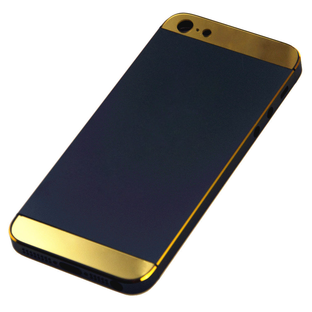 black and gold iphone 5s case for iphone 5s black gold back glass gold accent amp logo 1209