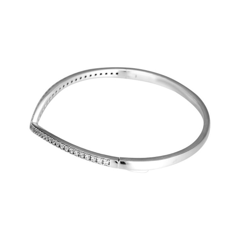 PANDULASO 2019 printemps chatoyant souhait Bracelet Bracelet charmes argent 925 Original Wishbone Bracelets Bracelets femmes bijoux-in Bracelets from Bijoux et Accessoires    3