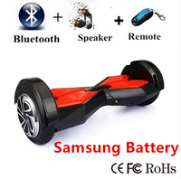 8 Inch Two Wheel Electric Scooter Bluetooth Hoverboard Skateboard Giroskuter Smart Balance Hover Board Self Balancing