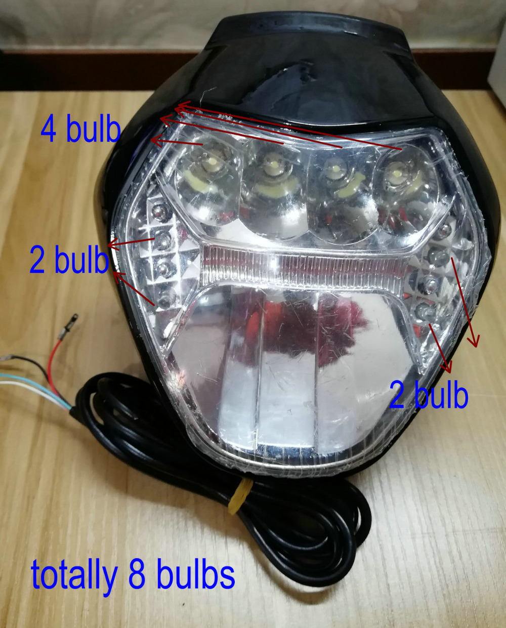 frontlight with display for big power electric scooter motorcycle lamp with battery level/speed/light indicator with bluetoothfrontlight with display for big power electric scooter motorcycle lamp with battery level/speed/light indicator with bluetooth
