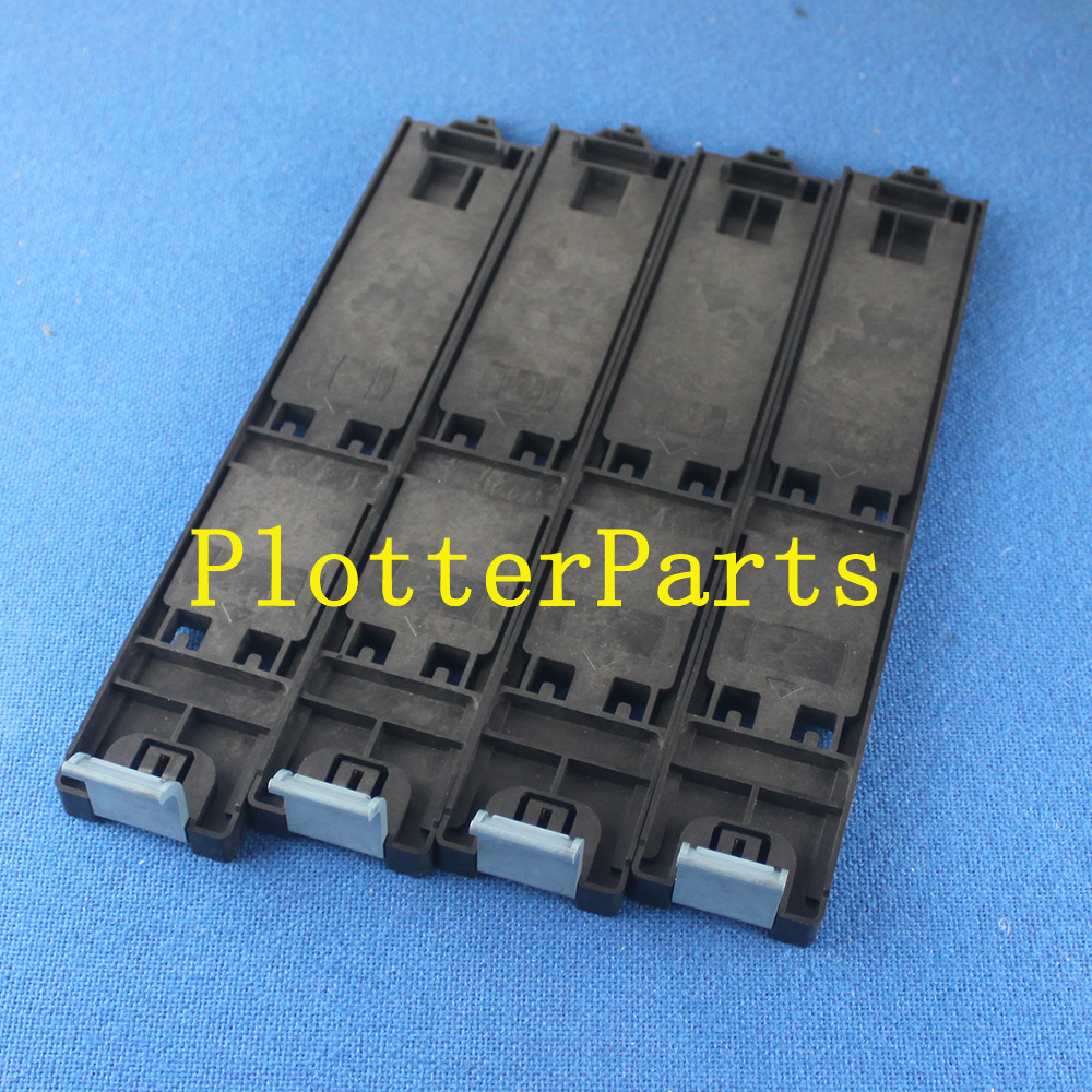 Q1273-60102 Cartridge trays for HP DesignJet 4000 4500 4020 4520 used with chip decoder refillable cartridge for hp 4000 4020 4500 4520 printer bulk ink cartridge for hp 90