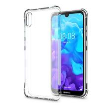 Crystal Clear Flexible Soft TPU Bumper Case with Shock Absorption Back Protective Phone For Huawei Y5 2019 Honor 8S