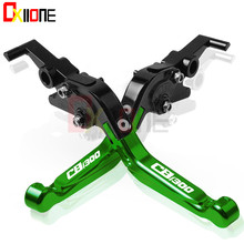 For Honda CB1300 CB 1300 X4 SC38 1997-1999 1998 Motorcycle Accessories CNC Adjustable Folding Extendable Brake Clutch Levers Set